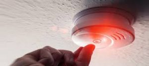 Property management experts can arrange specilised smoke alarm contgractors to test and install alarms